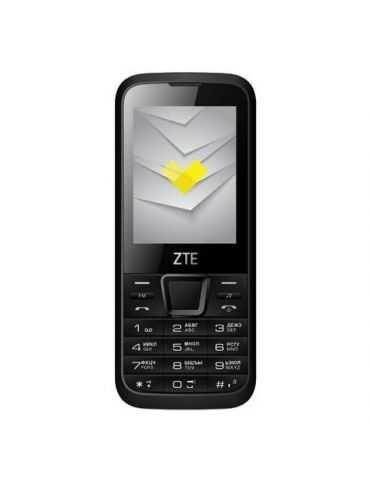 "ZTE F320 Téléphone Portable 2.4"" MicroSD 3G camera 2MP Radio FM e Bluetooth"