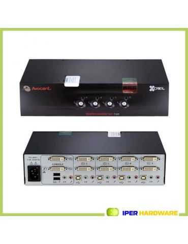 AVOCENT SC740-001 / 4 PORT USB DVI-I SWITCHVIEW KVM