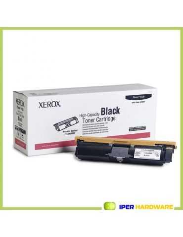 TONER ORIGINALE XEROX 113R00692 BK NERO ORIGINALE PHASER 6120