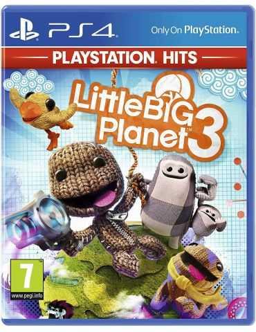 Little Big Planet 3 (PlayStation Hits) | PlayStation 4 FR/ANG