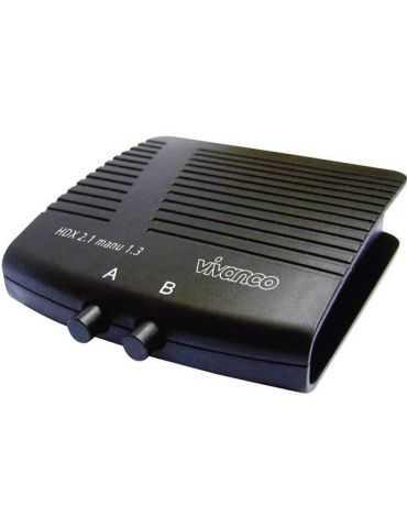 2 ports Switch HDMI 1920 x 1080 pixels Vivanco 25349 noir