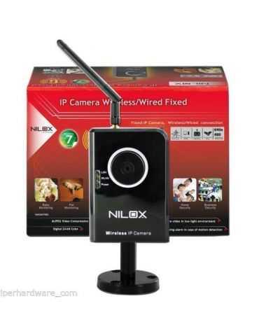 NILOX VIDEOCAMERA IP WIRELESS FISSA SENSORE CMOS 16NX2601FI002