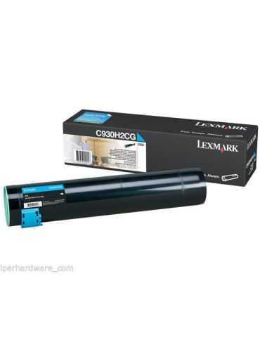 TONER ORIGINALE Lexmark C930H2CG C935, Altissima Resa, CYAN