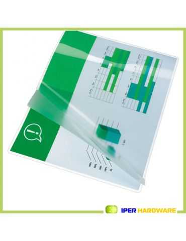 100 POUCHES PEACH PER PLASTIFICATRICI A CALDO A5 154x216 mm CM 125 MICRON