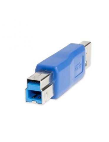 Syba Adaptateur USB 3.0 Mâle A vers Type B mâle changeur de Genre