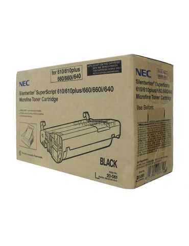 original NEC Toner Cartridge pour Superscript 610/640/660/660I Noir