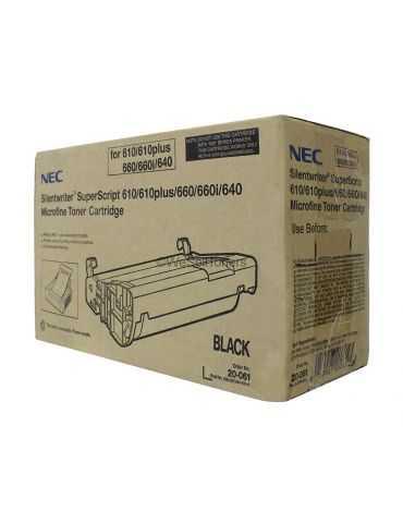 originale NEC Toner Cartridge per Superscript 610/640/660/660I Nero
