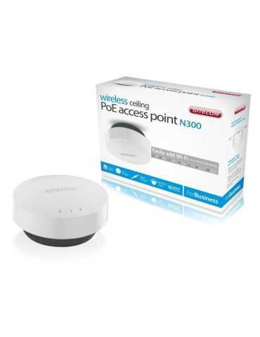 Access Point Sitecom WLX-3000B N300 Wi-Fi Ceiling PoE Access Point - Business