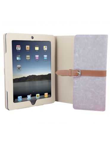 Custodia a libro Grigio per tablet Ipad 3 Cover Urban Factory EXS03UF 9.7""