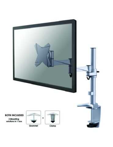 "Support de bureau écrans plat jusqu'à 30"" (76 cm) NEWSTAR FPMA-D1330SILVER"