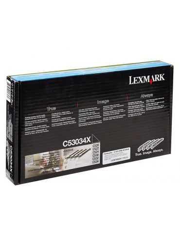 4 Tamburi Originale Lexmark C53034X Drum Optra Color C534 C534DNC522n / C524n / C524 / C532n / C524d