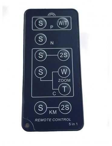 Telecomando IR Universale per fotocamere Reflex e compatte con sensore infrarosso