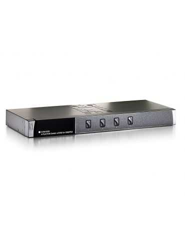 "LevelOne ViewCon KVM-0420 - KVM switch - 4 ports 483mm (19"")"