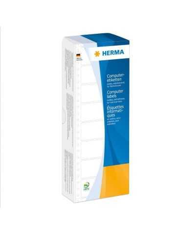 Étiquettes en continu, 101,6 x 48,4 mm, 1 bande, jaunes, adhérence permanente