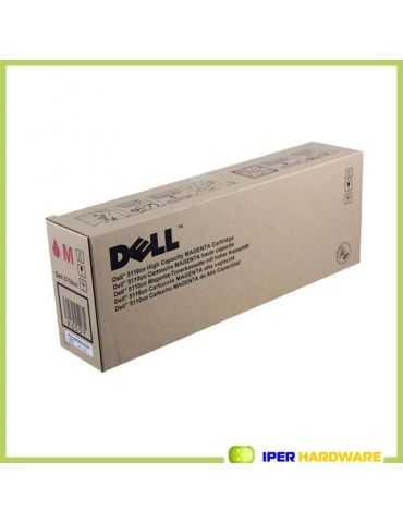 Toner magenta DELL KD557 Haute capacité pour 5110 CN 12K