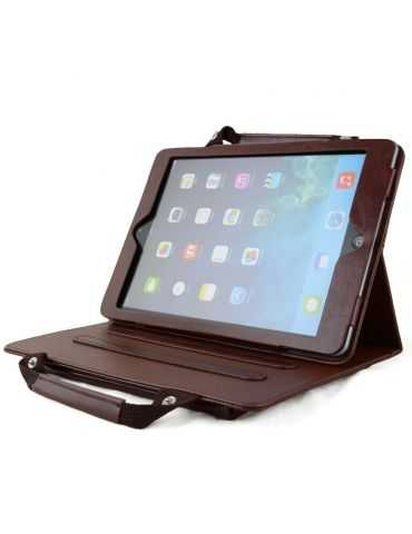 Apexel Étui/sacoche portable pour iPad 5/iPad Air Marron