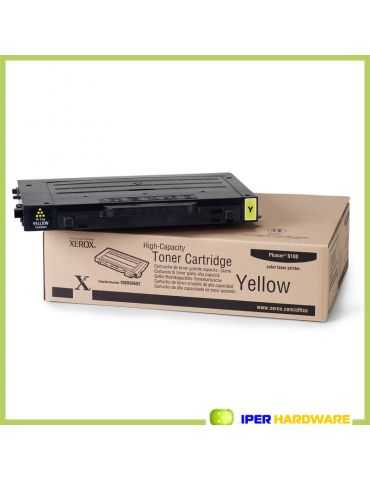 TONER ORIGINALE XEROX PHASER 6100 XEROX 106R00682 YELLOW 5000 PG