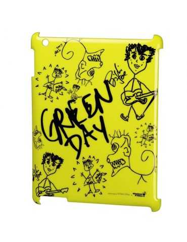 Whatever it Takes Coque Green Day pour Apple iPad 2 -3 - 4 Jaune