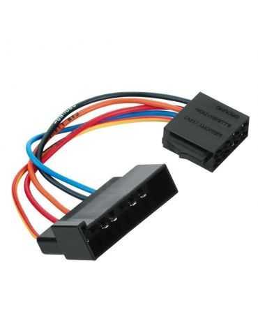 Hama Adaptateur ISO pour Ford/Mazda prises mâles ISO 00043672 1 pc