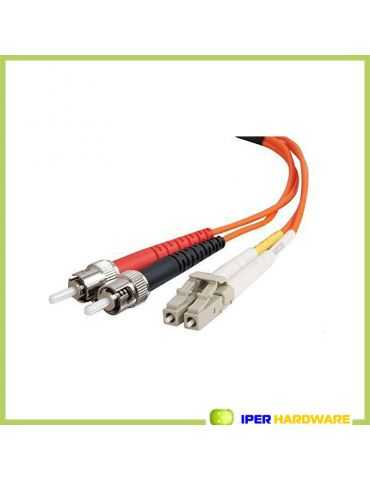 Câble fibre optique Belkin Multimode Lc/St Duplex Patch Cable 5M