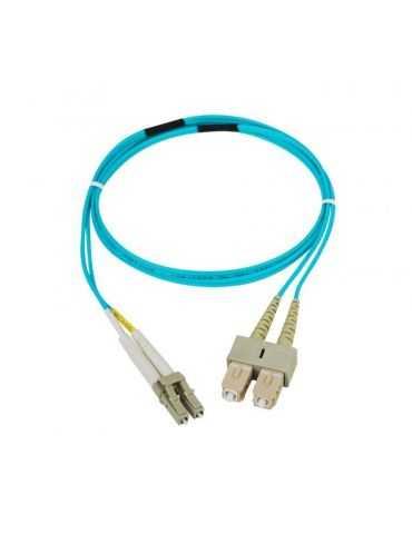 M-CAB 10m câble de Fibre Optique LC/SC Mâle/Mâle 50 µm 125 µm Multicolore