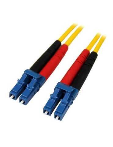 Neklan câble de Fibre Optique Cordon FO Duplex monomode 9/125 LC / LC 10 m