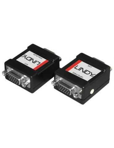 Lindy 35500 Adaptateur VGA avec audio Paire injecteur/extracteur