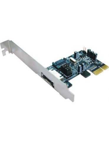 M-CAB Carte PCI Express eSATA/SATA 300 MBps - PCI Express