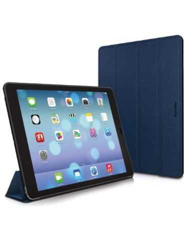 XtremeMac Microfolio Étui de protection pour Apple iPad 5 - Monaco Blau