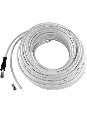 copy of Vivanco 44073 Câble Sat 10 m Blanc RECEIVER CONNECTION CABLE