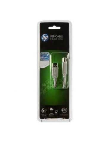 Hp monster USB-6 EU Câble imprimante USB Argent