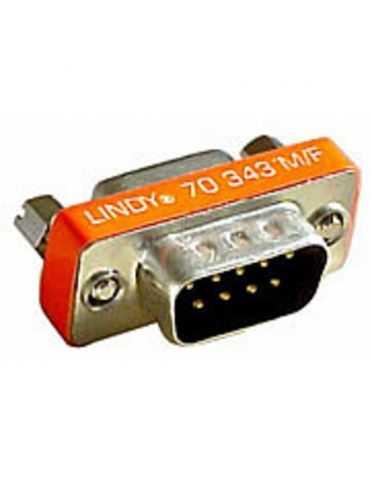 Lindy Mini adaptateur Sub-D 9M-15F Sub-D9 mâle vers HD15 femelle