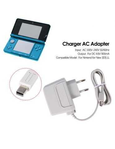 Caricabatterie Nintendo DSi DSi XL 2DS 3DS 3DS LL 3DS XL