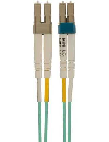 Belkin F3F005-05M Câble OM3 Mini-LC/LC Multimode 10Gb 50/125 - 5 m Bleu