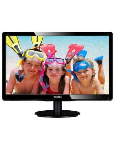 """Moniteur LCD PLAT 21.5"""" LED PHILIPS 226V4L FULL HD 1920X1080 VGA/DVI"""